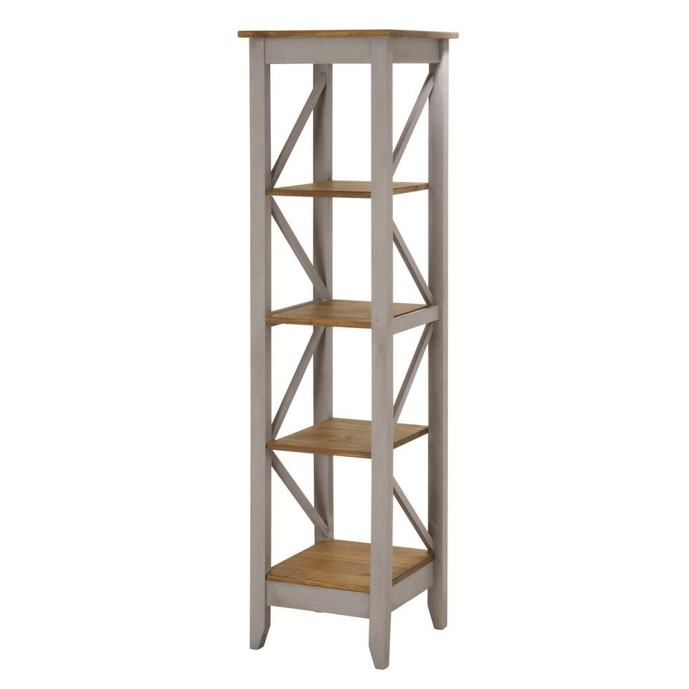 Hitz Etagere Bookcases Within Most Popular Manhattan Comfort Jay 18.5 In (View 10 of 20)