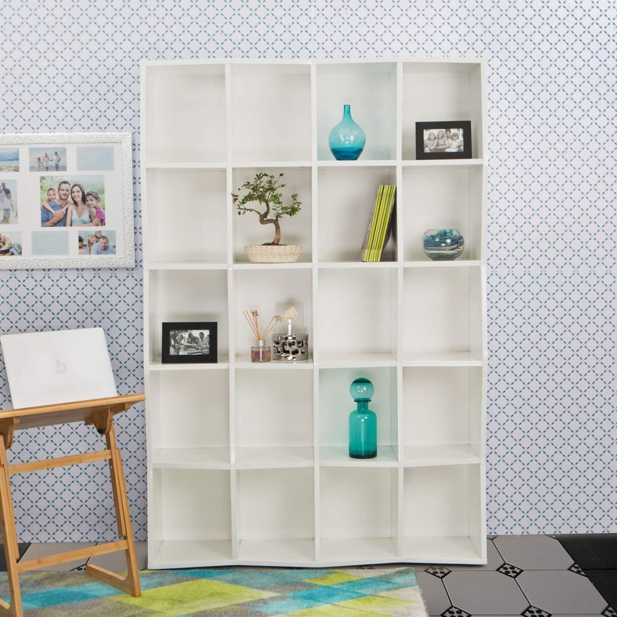 Home Centre Fresno Book Case: Amazon (View 10 of 20)
