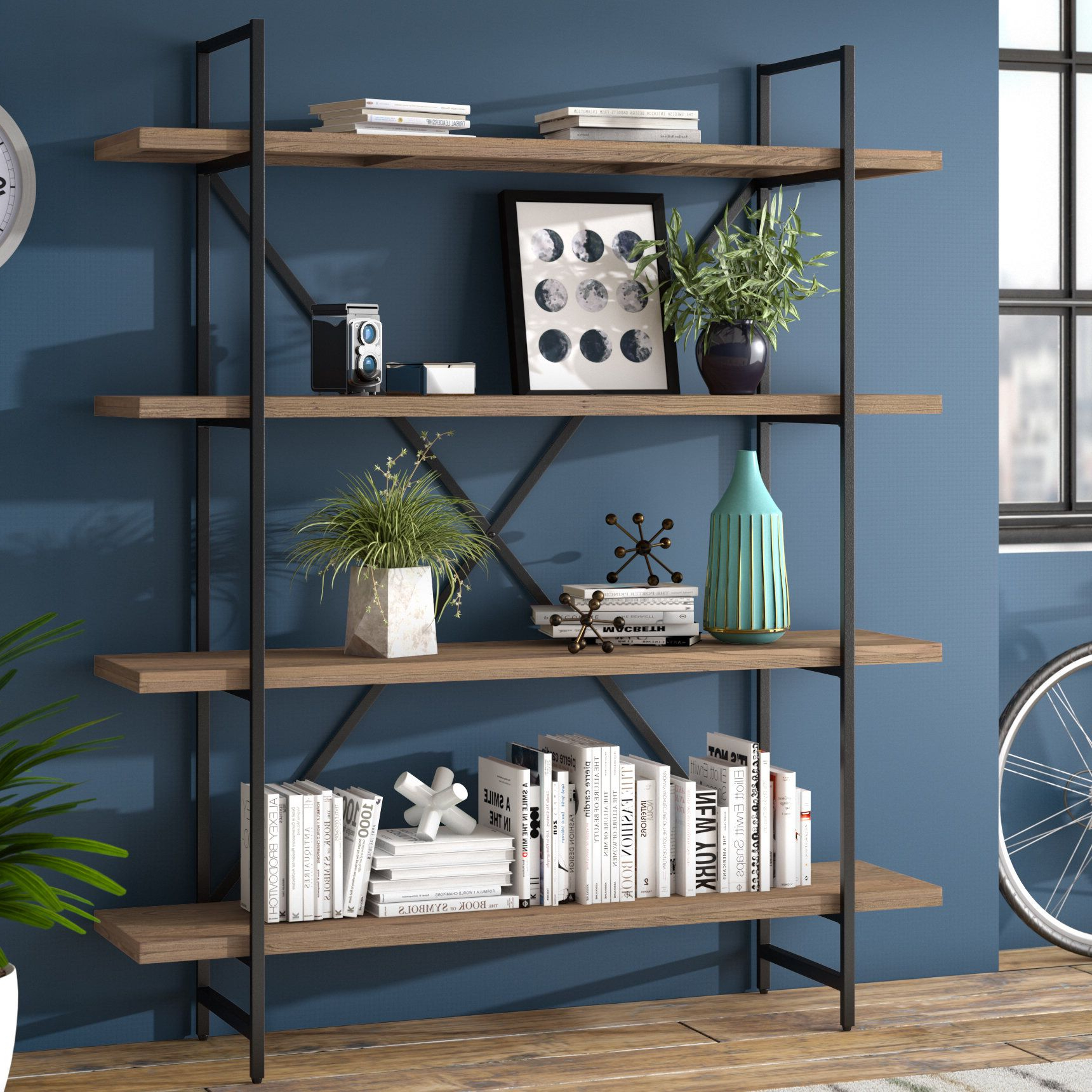 Featured Photo of Champney Modern Etagere Bookcases