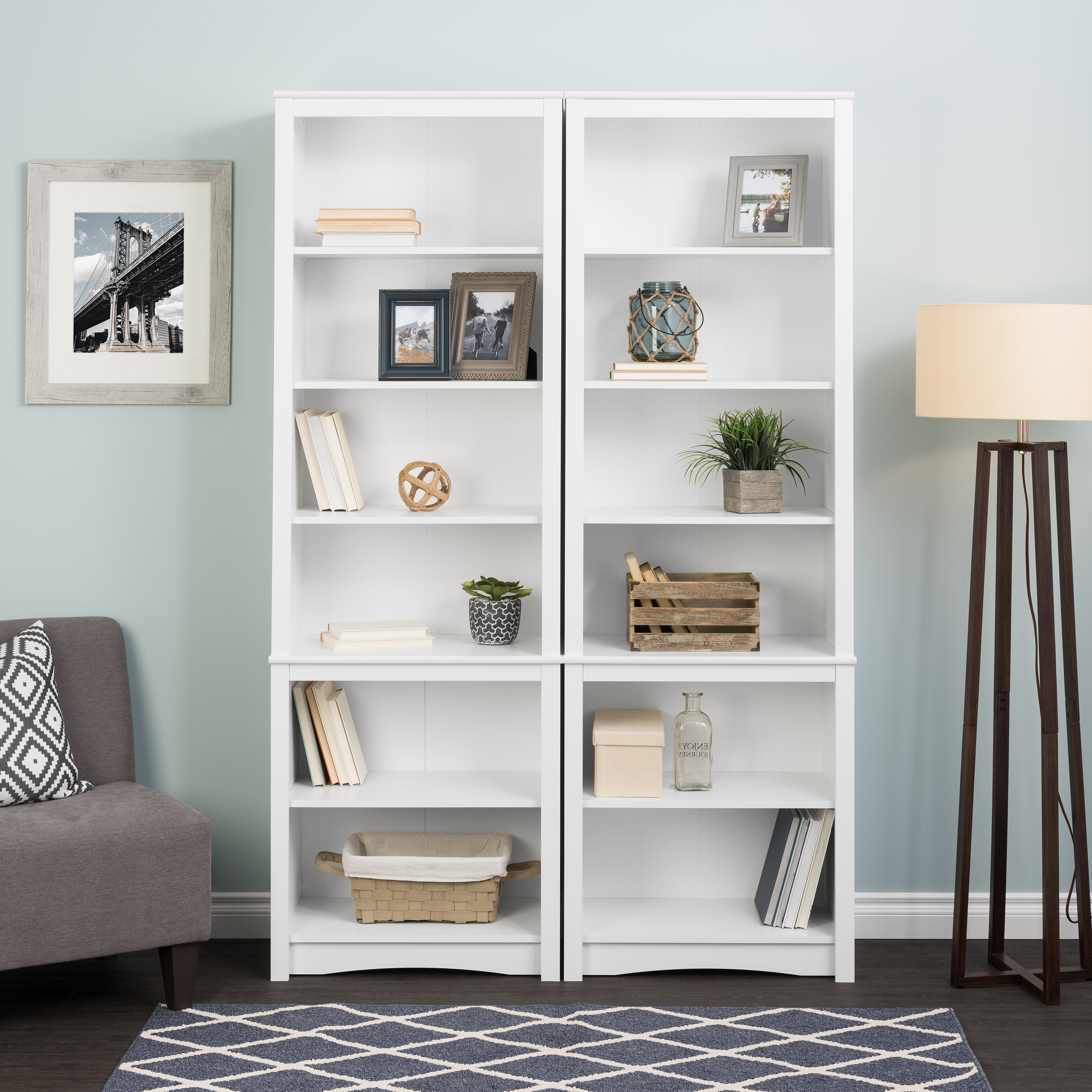 Hoquiam Standard Bookcase Within Fashionable Krausgrill Standard Bookcases (View 6 of 20)