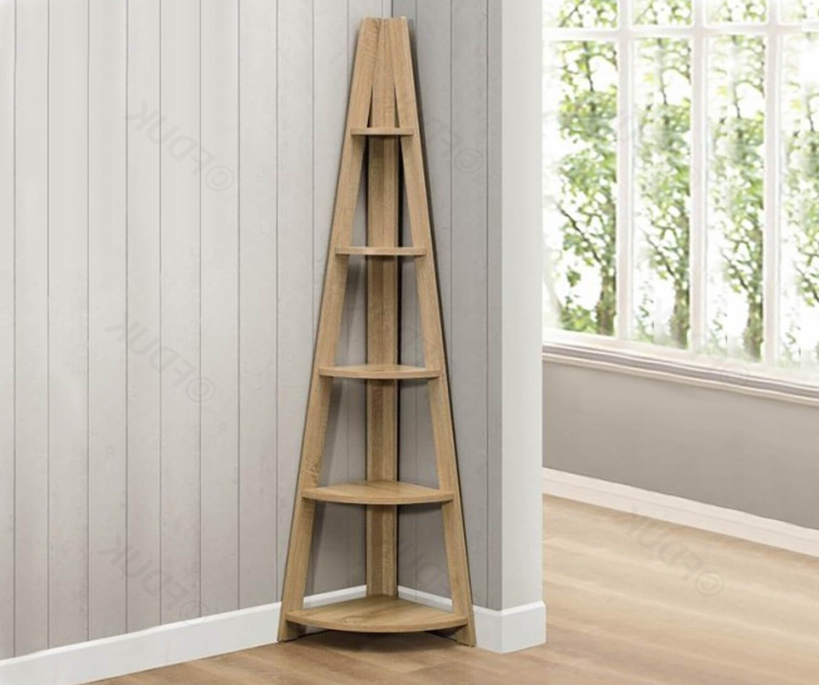 Ideas: Unique Interior Shelving Design With Corner Bookcase Pertaining To Current Courtdale Corner Bookcases (View 11 of 20)