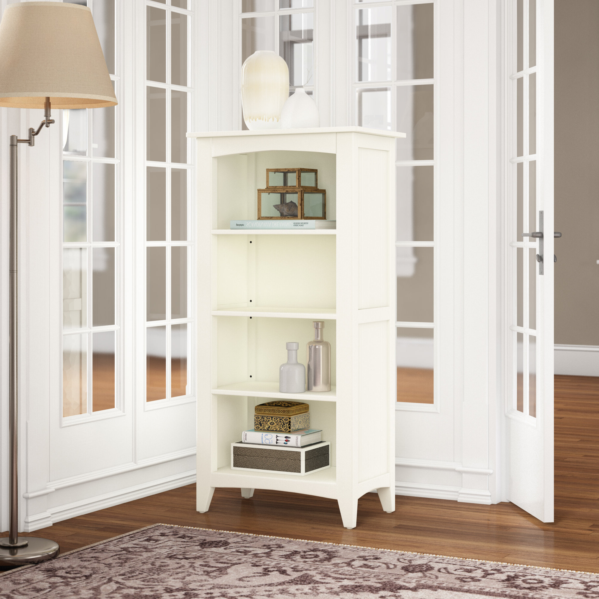 Ignacio Standard Bookcases Throughout Most Recently Released Kerlin Standard Bookcase (Gallery 20 of 20)