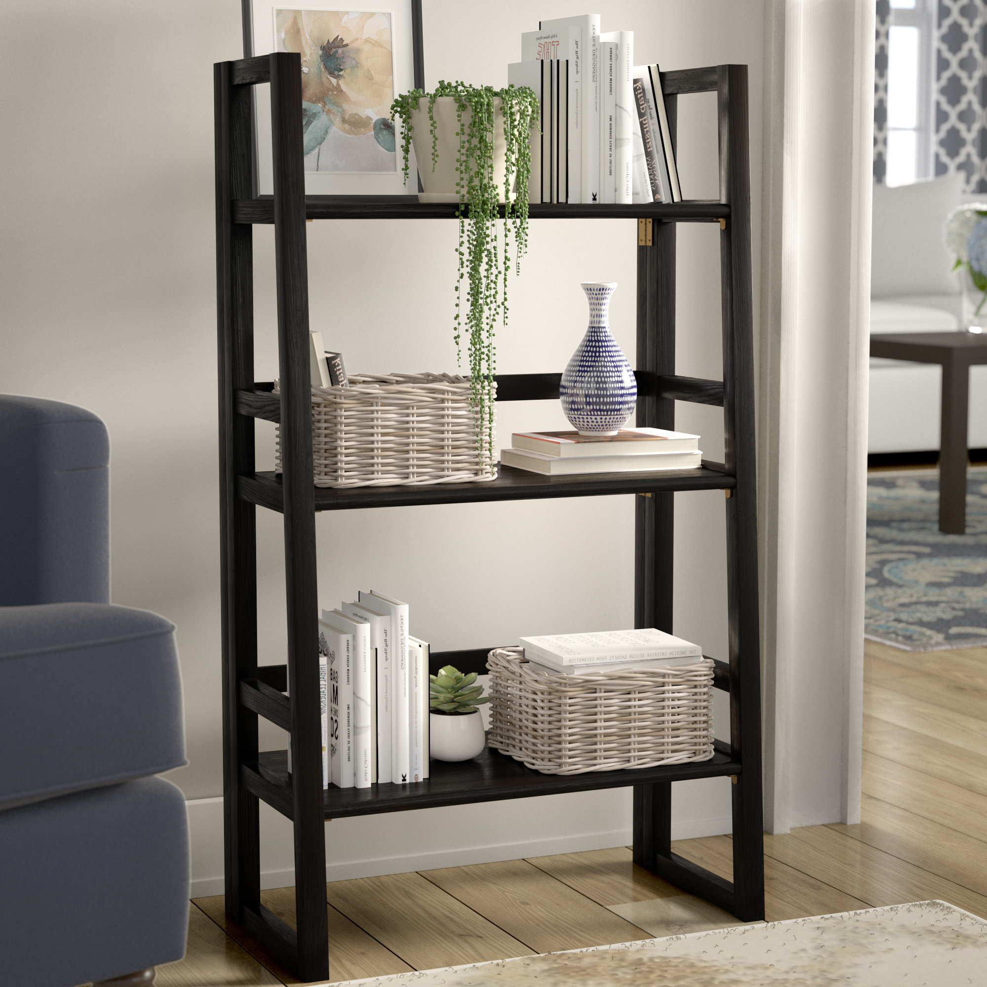 Isetta Etagere Bookcase In 2019 Saskia Etagere Bookcases (Gallery 12 of 20)