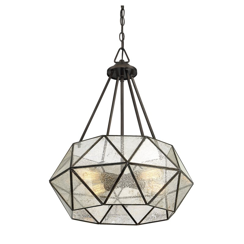 Jacey 4 Light Chandelier Within 2018 Tabit 5 Light Geometric Chandeliers (View 18 of 25)