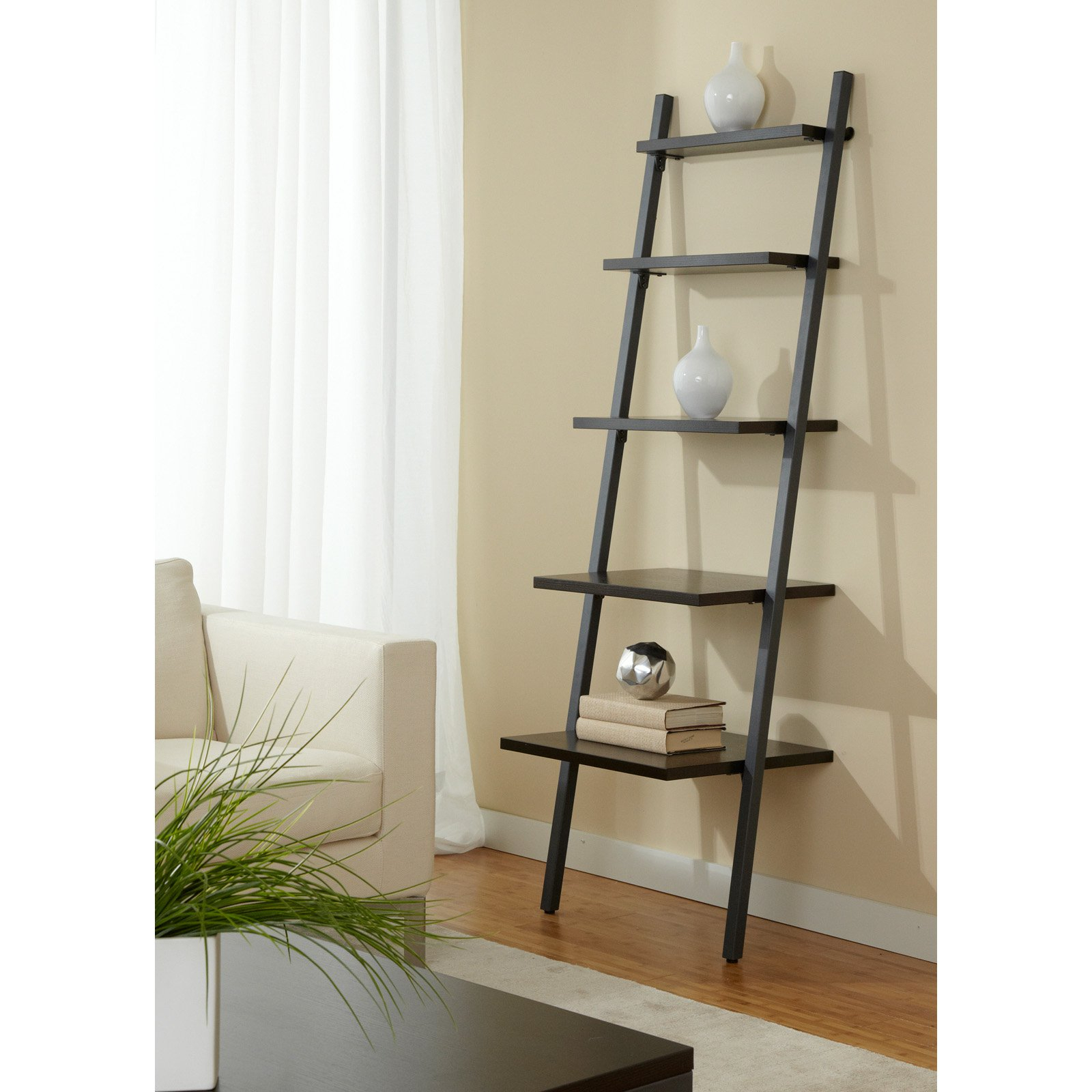 Jesper Office B2271 Five Tier Ladder Bookcase – B2271 Esp In Most Current Narrow Ladder Bookcases (View 7 of 20)