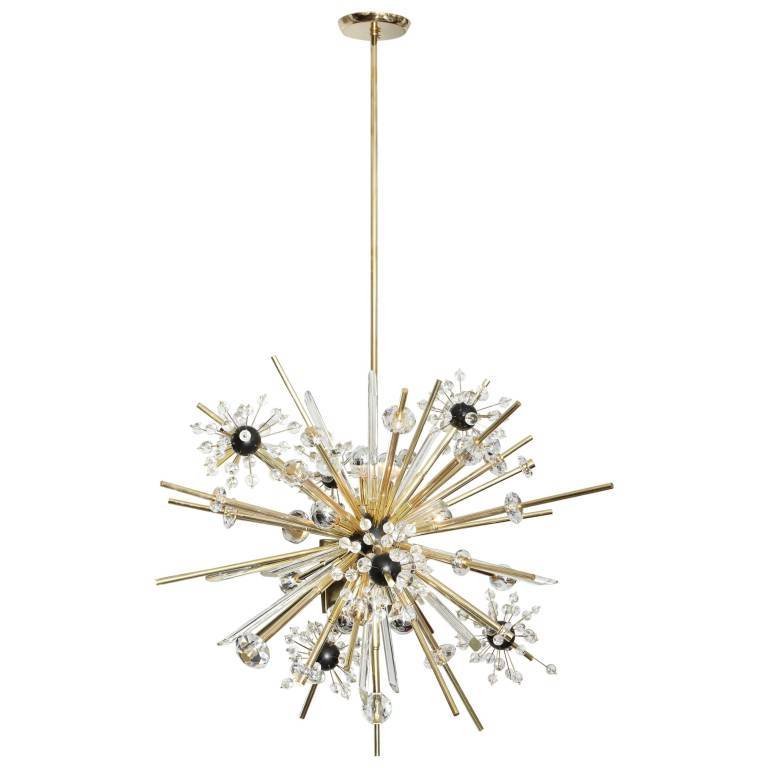 Johanne 6 Light Sputnik Chandeliers Within Most Recently Released Country Black Sputnik Chandelier – Newbeginningquotes.co (Gallery 25 of 25)