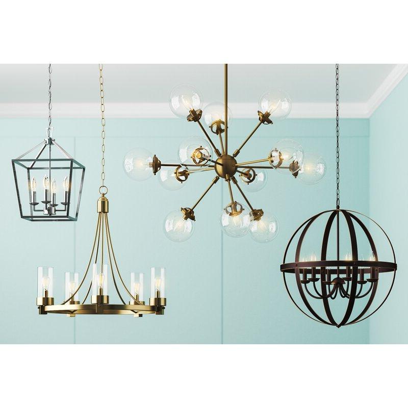 Joon 6 Light Globe Chandelier Pertaining To Widely Used Joon 6 Light Globe Chandeliers (Gallery 5 of 25)