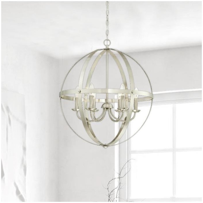 Joon 6 Light Globe Chandelier Regarding Most Recently Released Joon 6 Light Globe Chandeliers (Gallery 6 of 25)