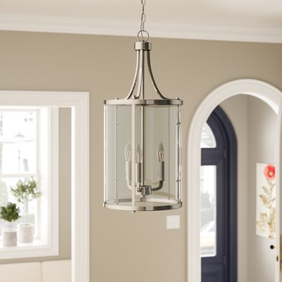Joss & Main In Finnick 3 Light Lantern Pendants (Gallery 18 of 25)