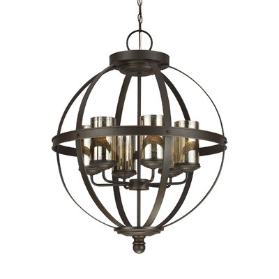 Joss & Main Intended For Preferred Donna 6 Light Globe Chandeliers (Gallery 9 of 25)