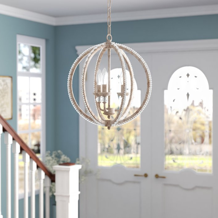 Joss & Main Throughout Well Liked La Sarre 3 Light Globe Chandeliers (View 10 of 25)