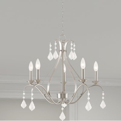 Joss & Main With Regard To Widely Used Berger 5 Light Candle Style Chandeliers (Gallery 10 of 25)