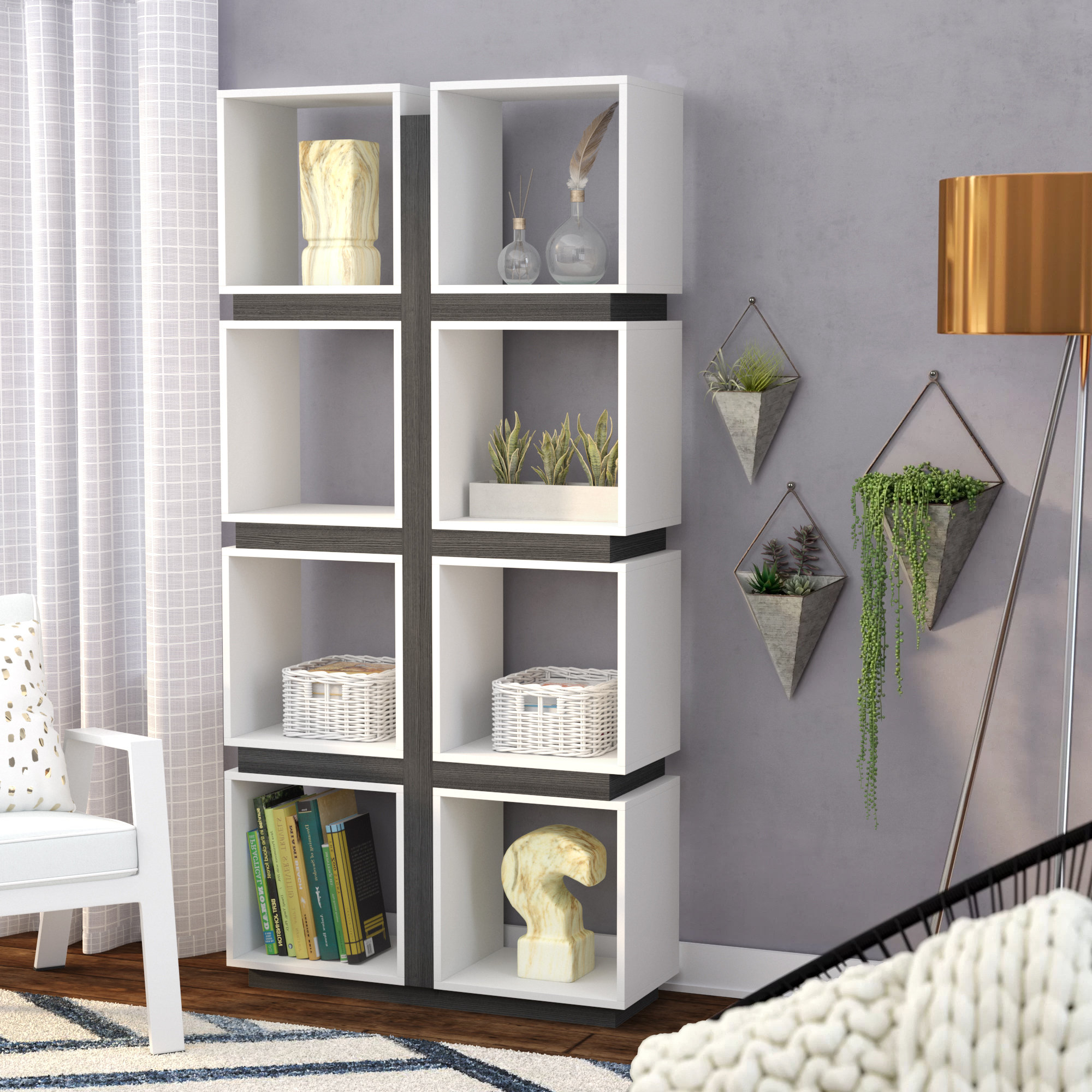 Karlie Cube Unit Bookcases For Most Recently Released Charron Cube Bookcase (View 10 of 20)