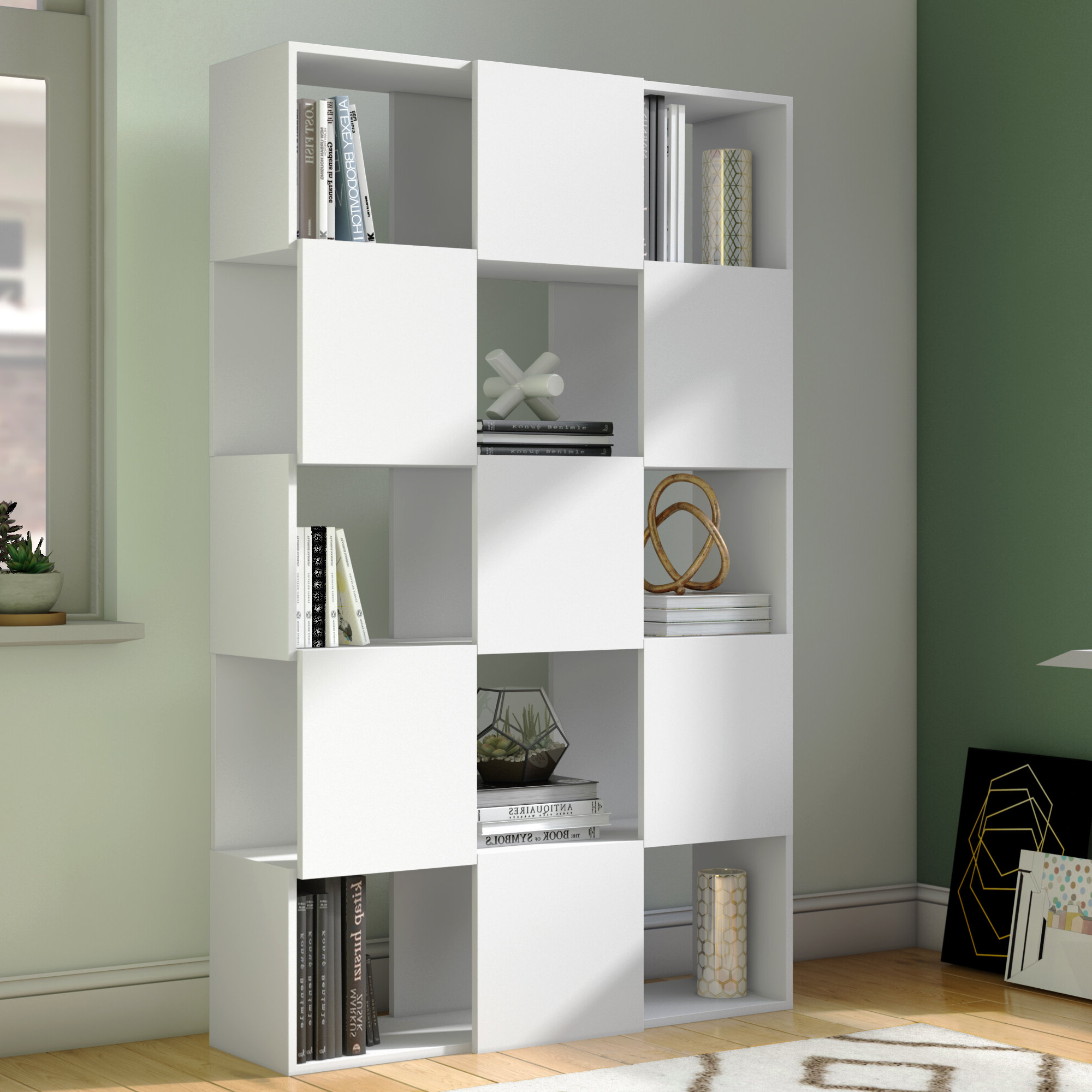 Karlie Cube Unit Bookcases Intended For Newest Marinez Cube Unit Bookcase (View 12 of 20)