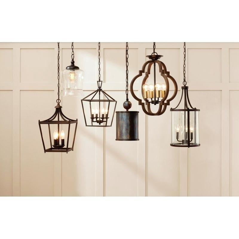 Kaycee 4 Light Geometric Chandeliers In Most Up To Date 4 Light Pendant – Bikinioutlet (View 15 of 25)