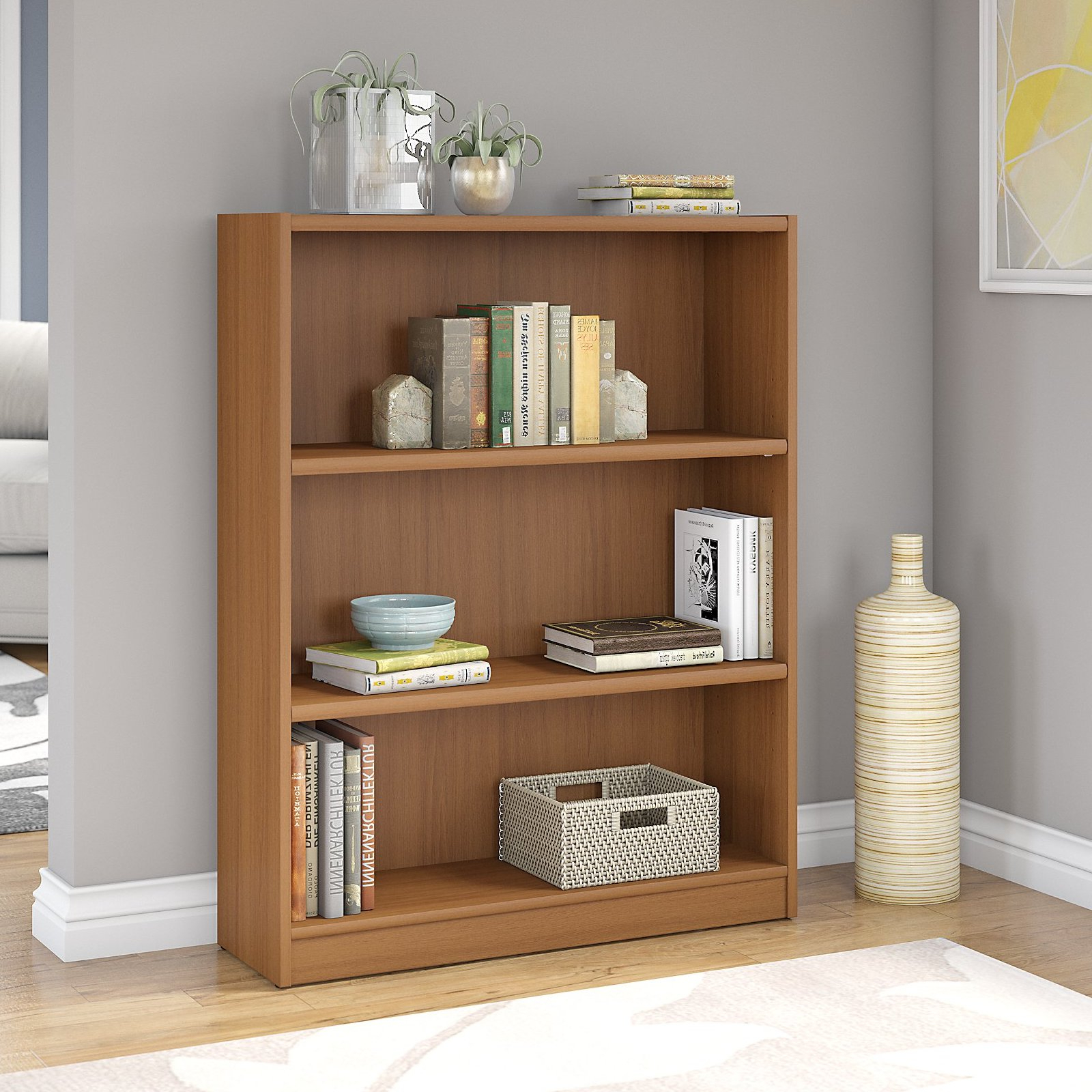 Kirkbride Standard Bookcases Throughout 2020 Ebern Designs Kirkbride Standard Bookcase (View 8 of 20)