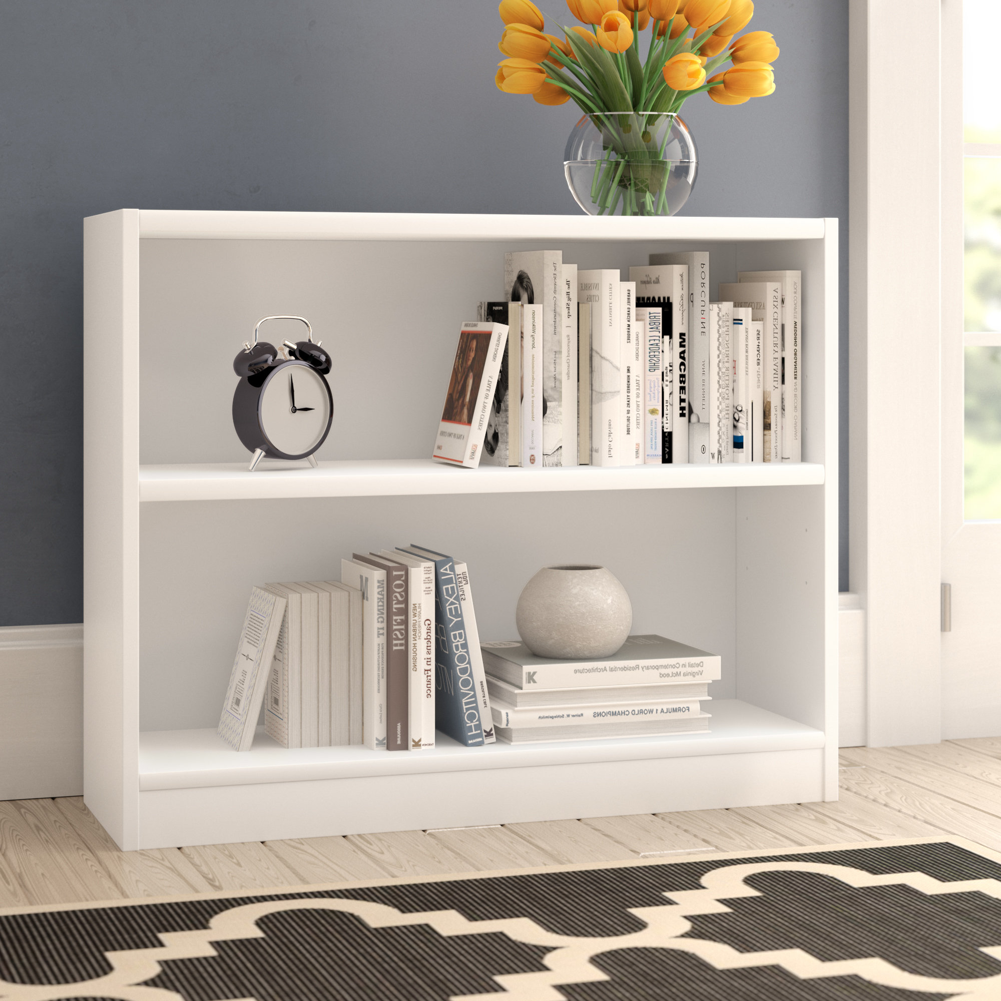 Krausgrill Standard Bookcases With Trendy Kirkbride Standard Bookcase (View 10 of 20)