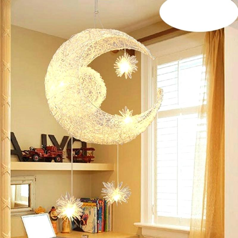 La Barge 3 Light Globe Chandeliers For Most Up To Date Globe Light Chandelier Creative Aluminum Pendant Moon Star (View 11 of 25)