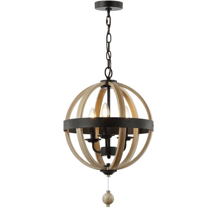 La Barge 3 Light Globe Chandeliers Pertaining To Best And Newest Cauthen 3 Light Globe Chandelier (View 12 of 25)