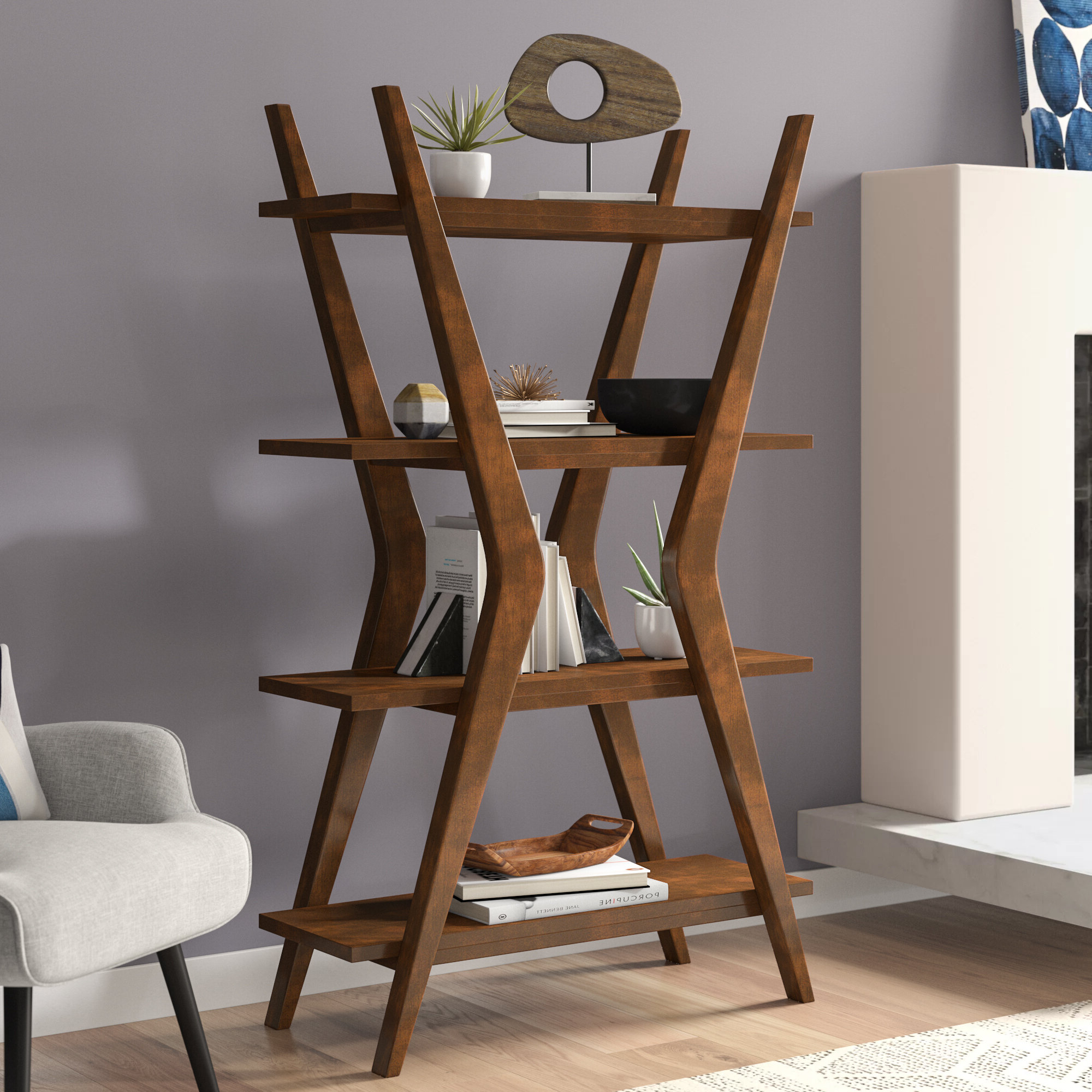 Featured Photo of Woodcrest Etagere Bookcases