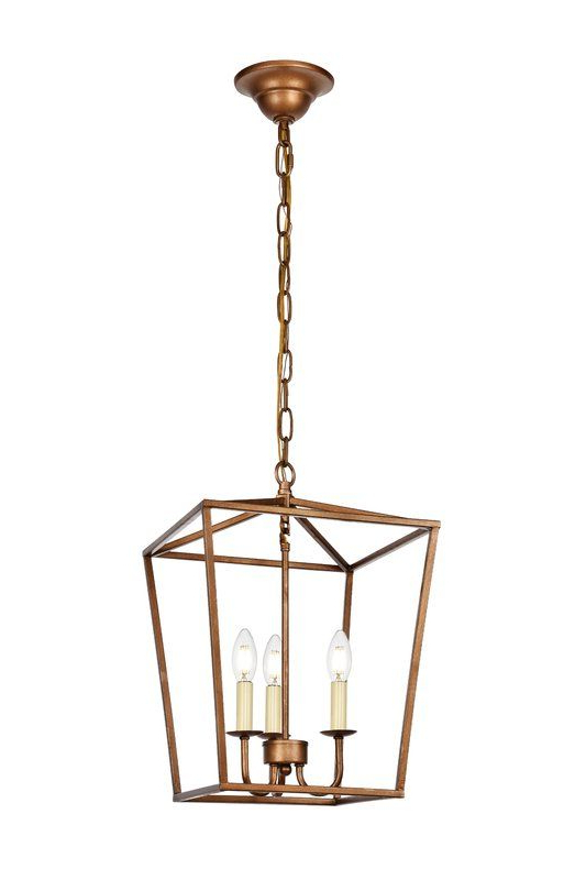 Lantern Throughout Finnick 3 Light Lantern Pendants (View 7 of 25)
