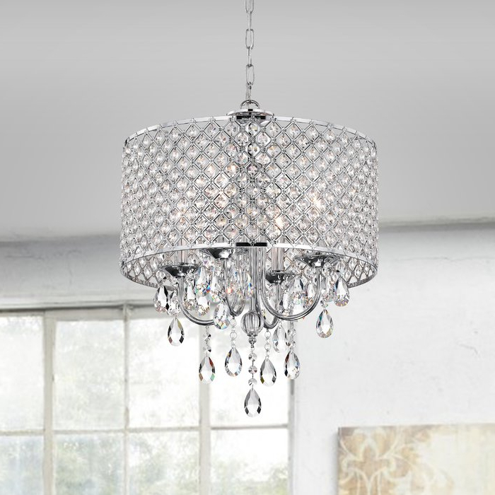 Latest Aldgate 4 Light Crystal Chandelier Within Sinead 4 Light Chandeliers (View 8 of 25)