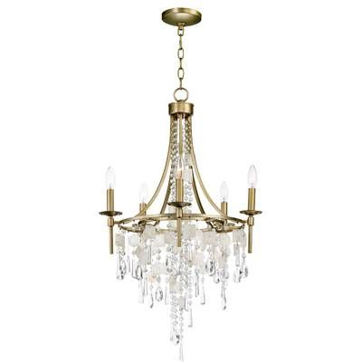 Latest Florentina 5 Light Candle Style Chandeliers Pertaining To Florentina 5 Light Candle Style Chandelier In (View 13 of 25)