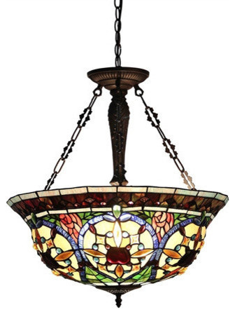 Latest Harlan 3 Light Victorian Inverted Ceiling Pendant Throughout Harlan 5 Light Drum Chandeliers (View 16 of 25)