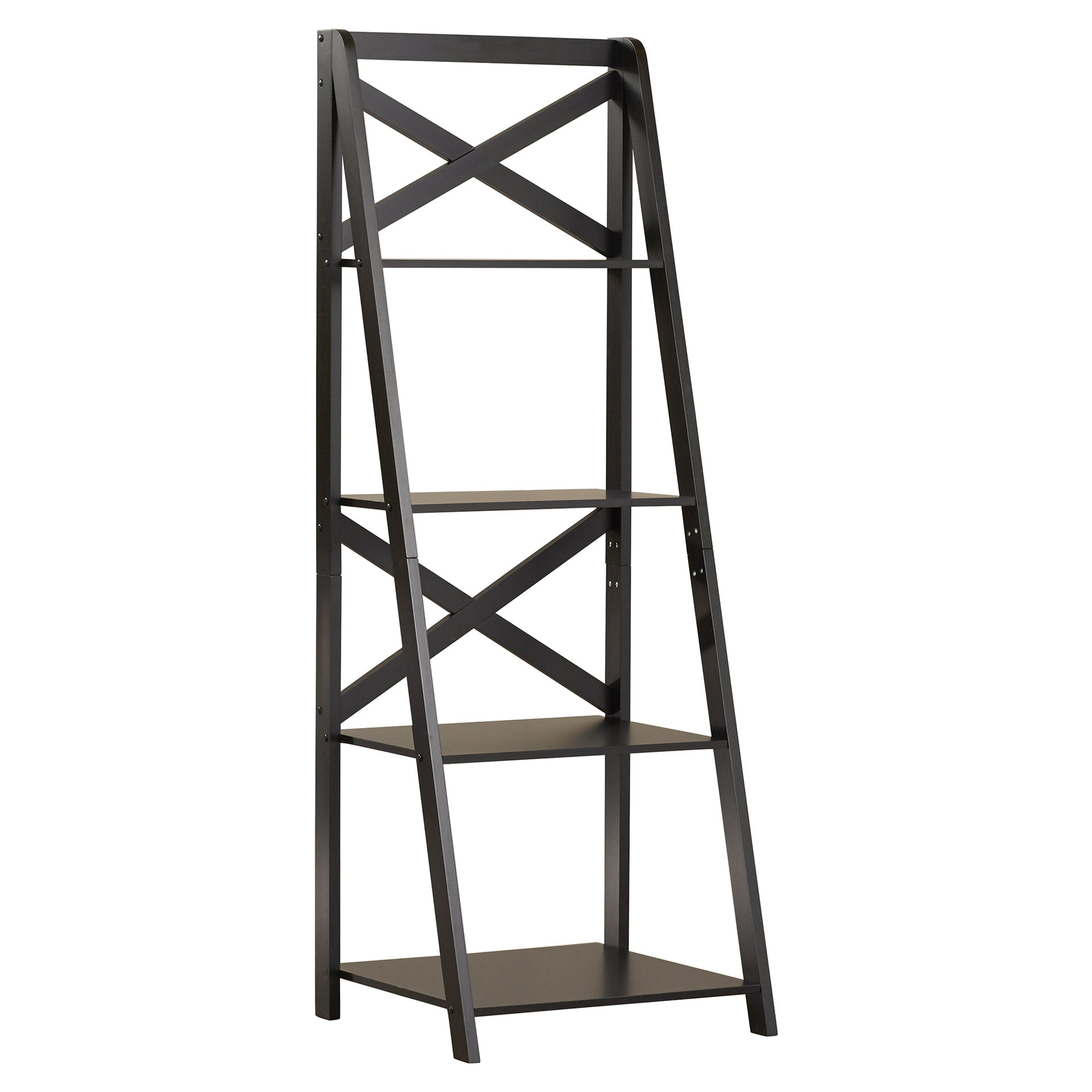 Latest Kaitlyn Ladder Bookcase In Kaitlyn Ladder Bookcases (View 8 of 20)