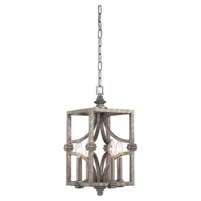 Latest Lynn 6 Light Geometric Chandeliers Within Lark Manor Lynn 6 Light Geometric Chandelier (View 11 of 25)
