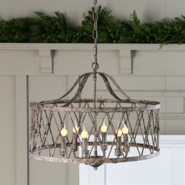 Latest Sherri 6 Light Chandeliers Within Pinleigh Rokop On French Country Decor In (View 22 of 25)