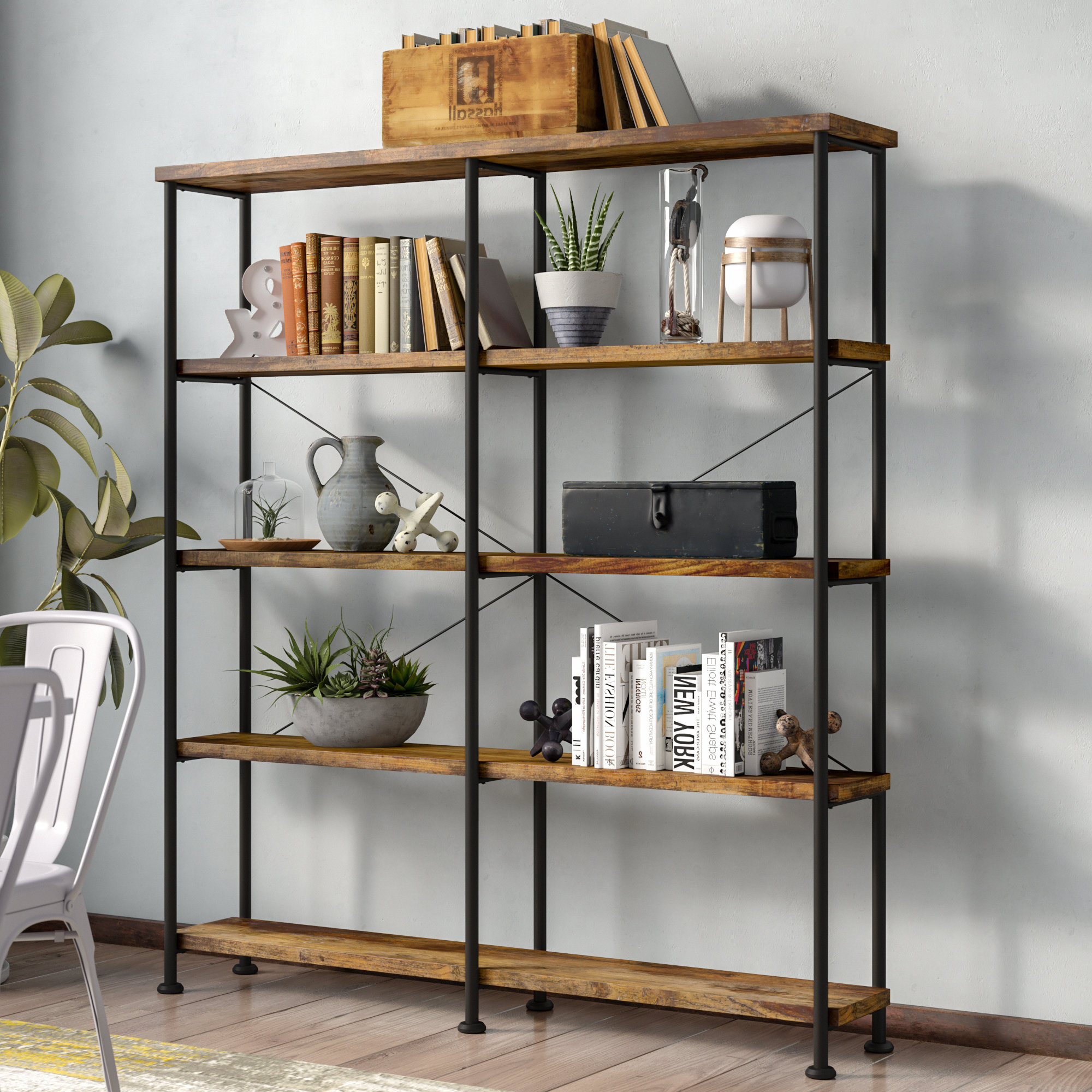 Latest Thea Blondelle Library Bookcase Pertaining To Thea Blondelle Library Bookcases (View 4 of 20)