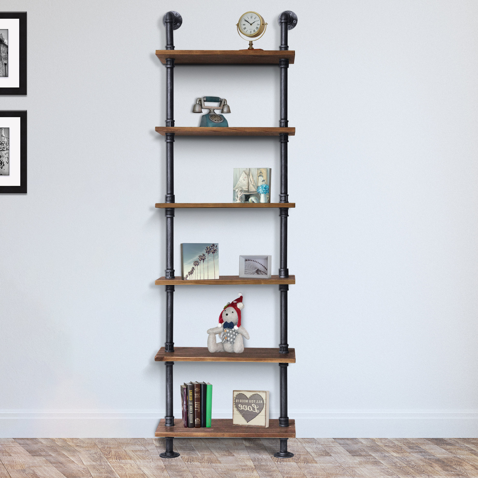 Latest Waverley Etagere Bookcases Within Lederer Etagere Bookcase (View 3 of 20)