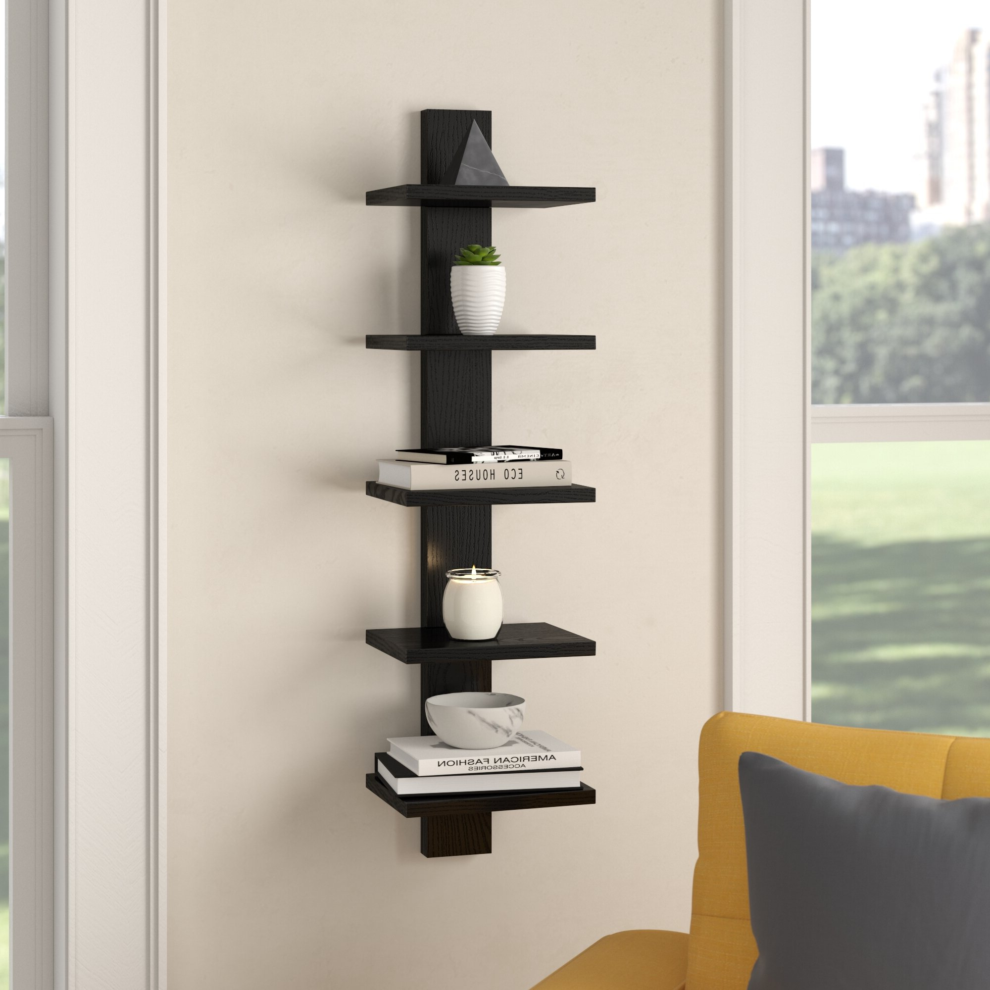 Latitude Run Waverley Etagere Bookcase & Reviews (View 2 of 20)
