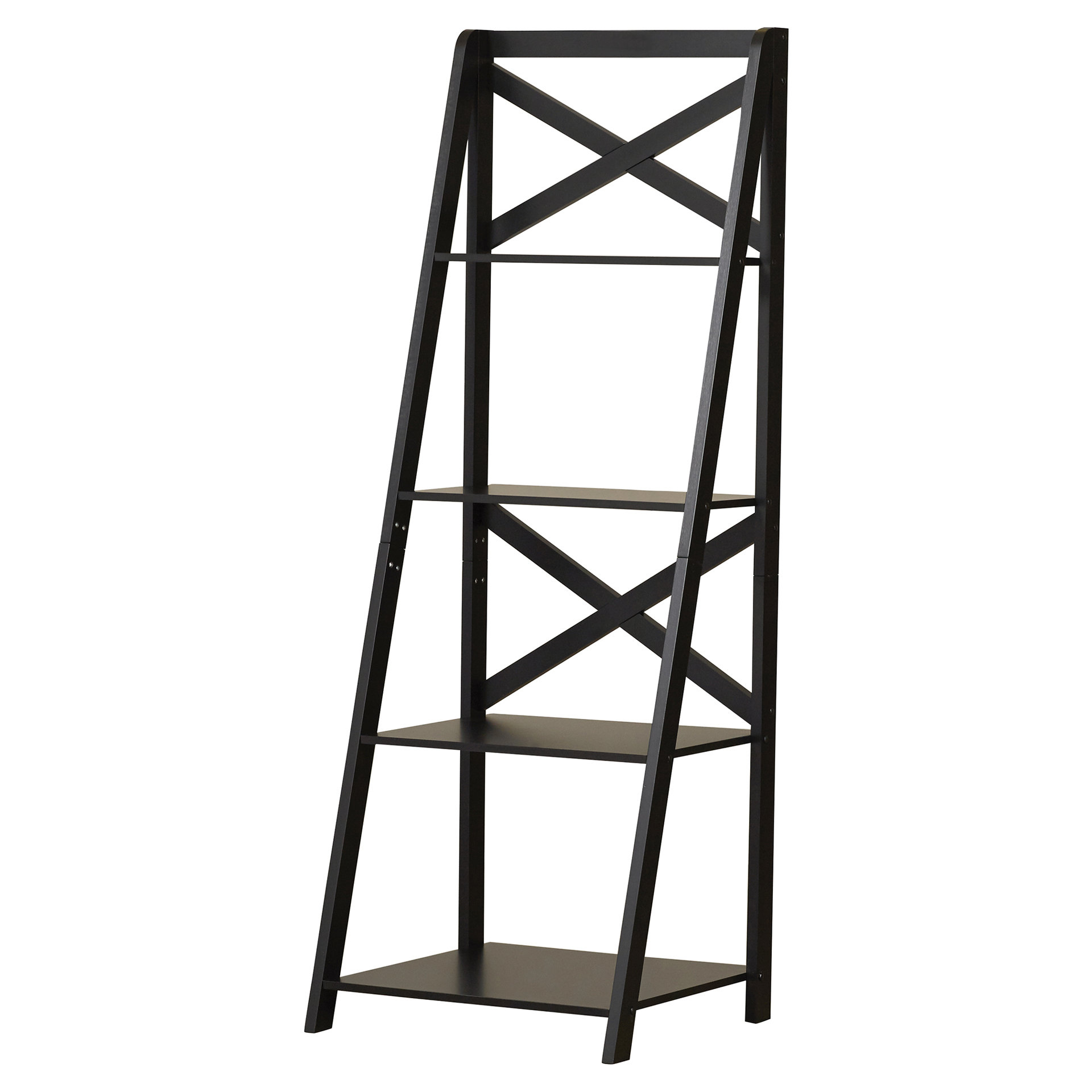 Laurel Foundry Modern Farmhouse Kaitlyn Ladder Bookcase With Regard To Latest Kaitlyn Ladder Bookcases (View 6 of 20)