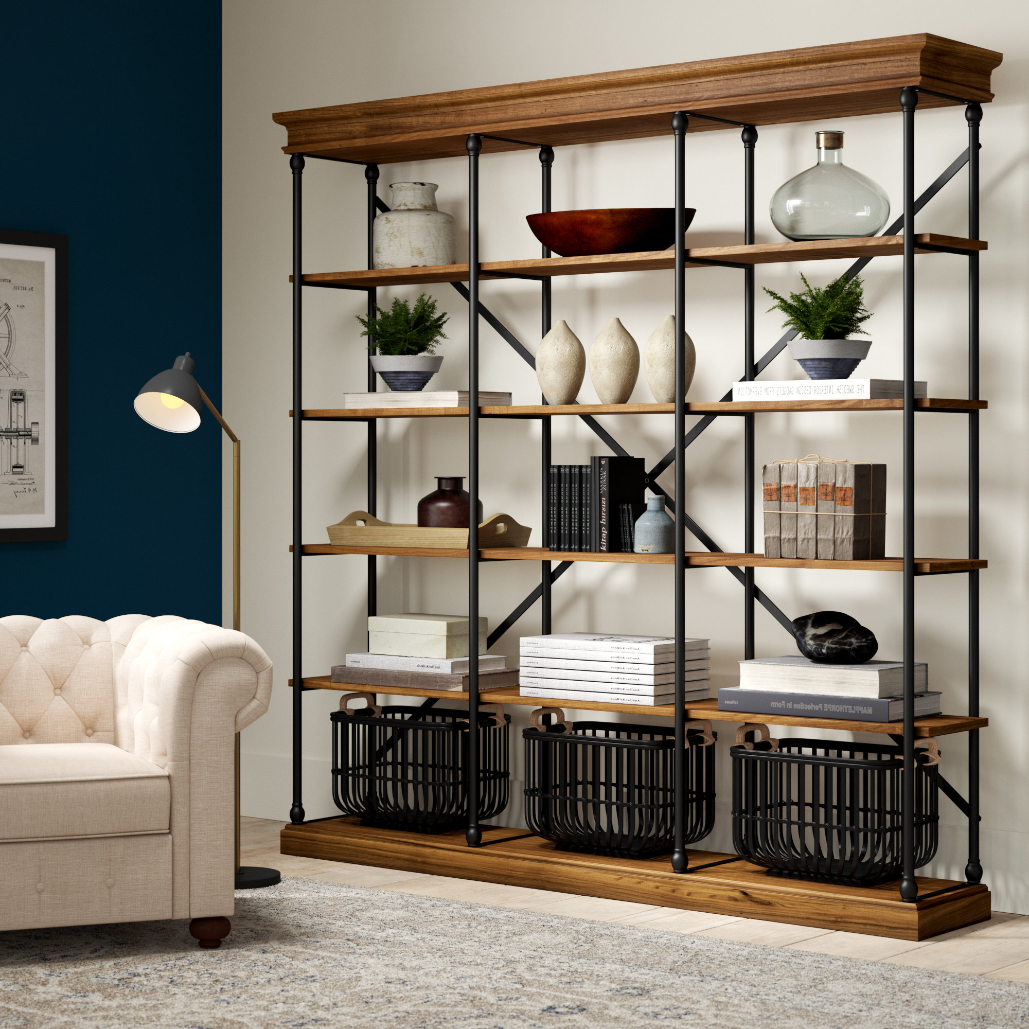 Library Bookcases You'll Love In  (View 8 of 20)