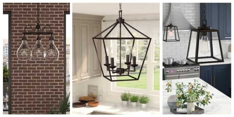 Life On Summerhill Throughout Well Known Louanne 1 Light Lantern Geometric Pendants (View 9 of 25)