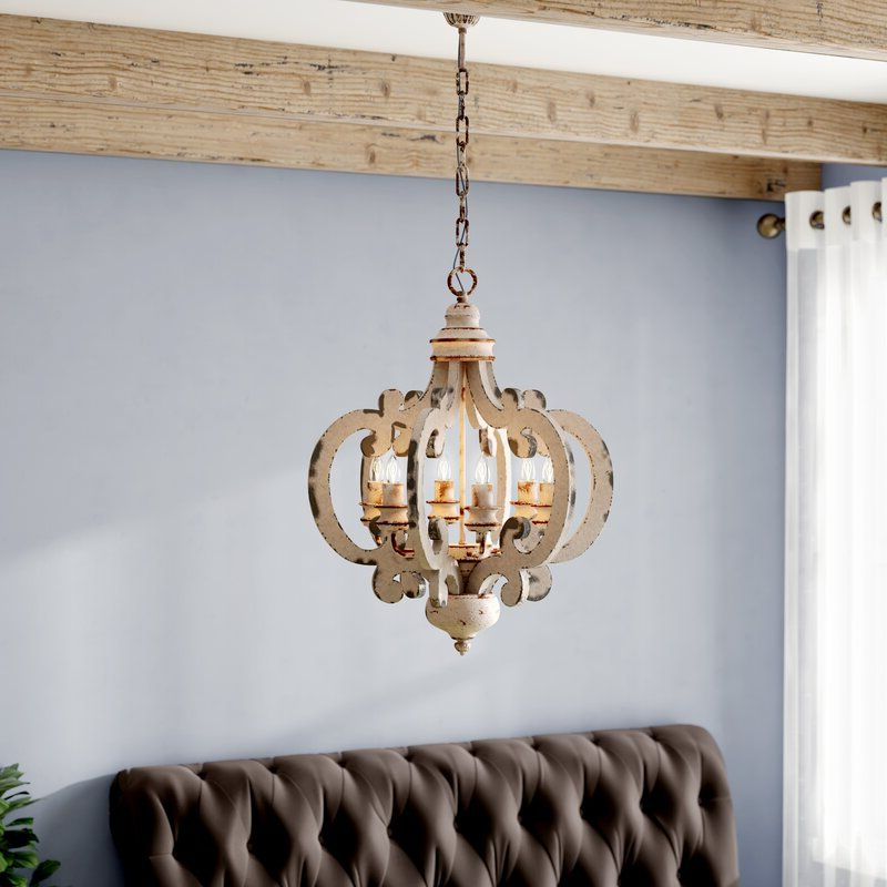 Light Fixtures In 2019 Within Latest Lynn 6 Light Geometric Chandeliers (View 3 of 25)