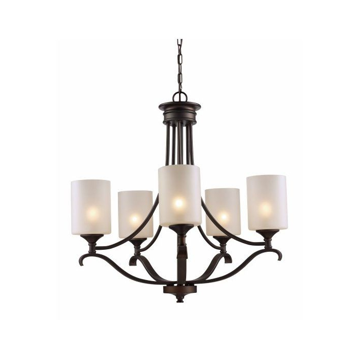 Lighting In 2019 Pertaining To Most Recent Suki 5 Light Shaded Chandeliers (View 2 of 25)