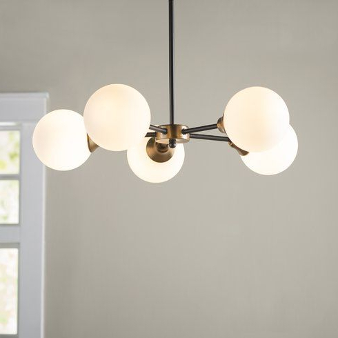 Lighting Throughout Widely Used Bautista 5 Light Sputnik Chandeliers (View 4 of 25)