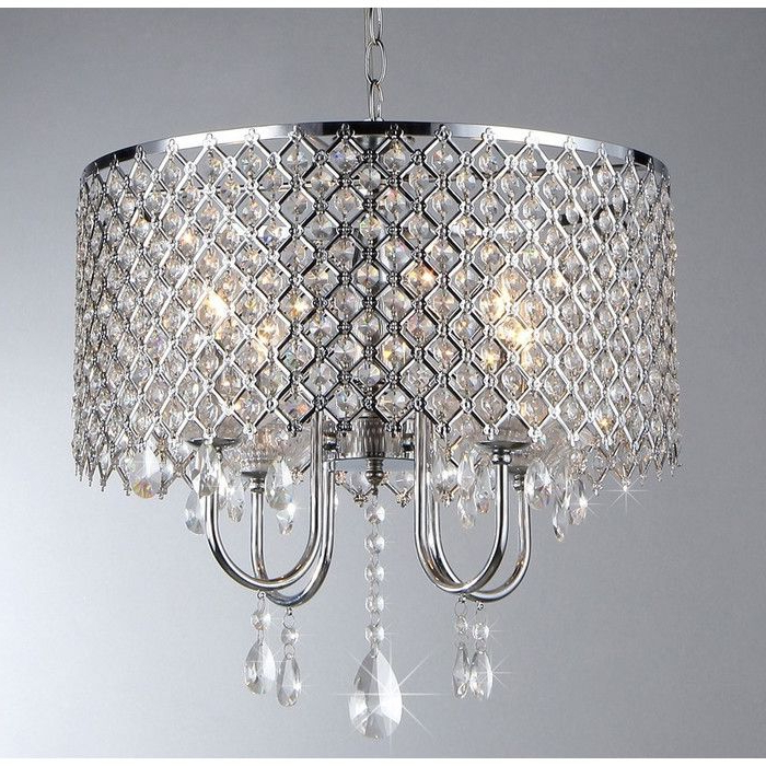 Lindsey 4 Light Drum Chandeliers For Favorite Pin On New House (View 14 of 25)