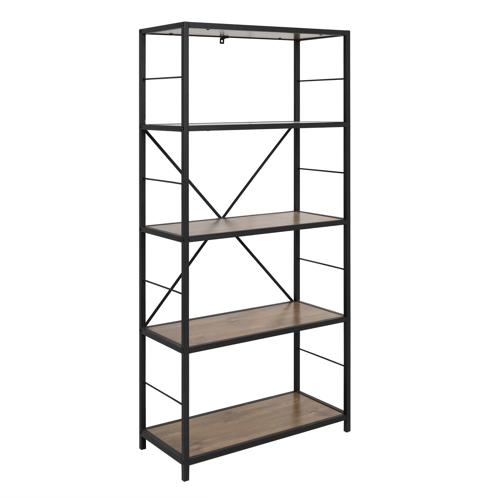 Macon Etagere Bookcase Pertaining To 2019 Rossman Etagere Bookcases (View 7 of 20)