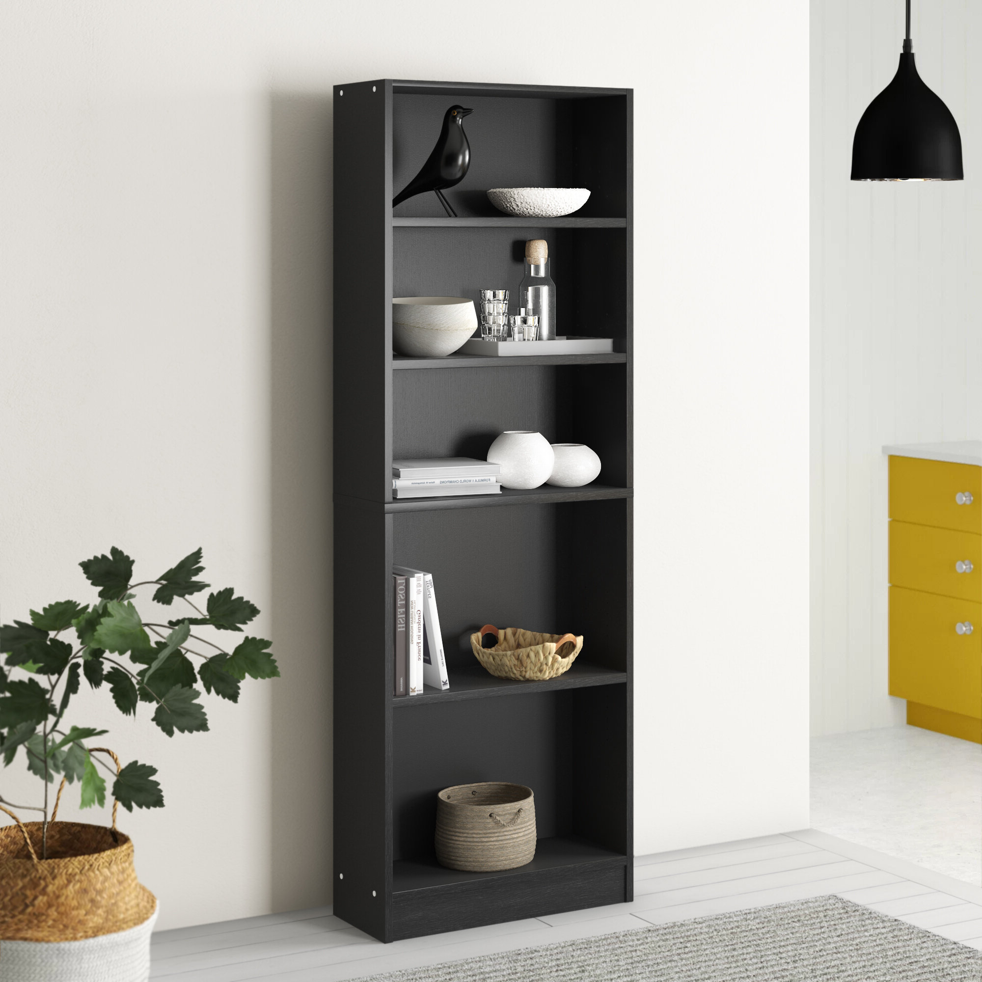 Marva Standard Bookcase With Favorite Ryker Standard Bookcases (View 8 of 20)