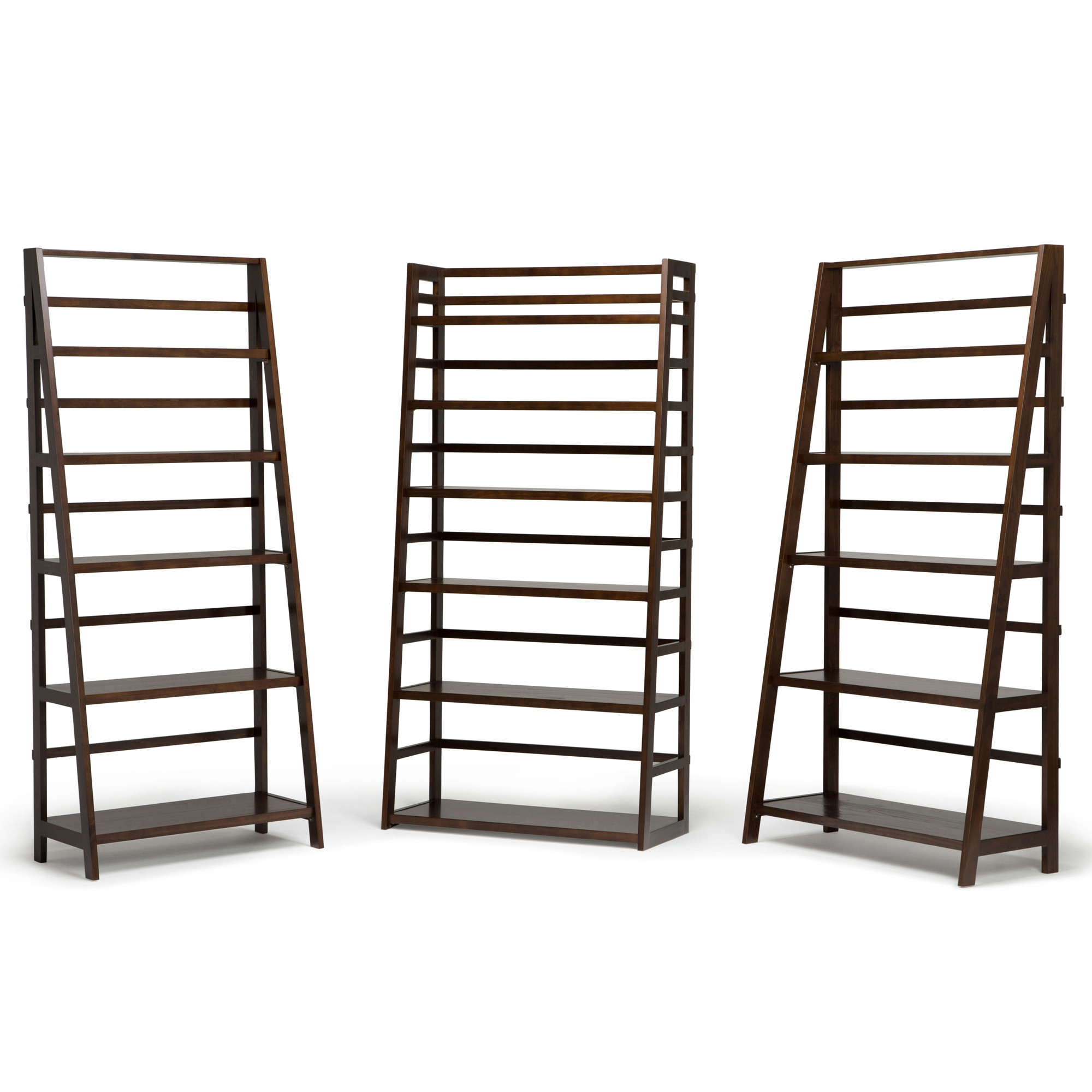 Mayna Ladder Bookcases Pertaining To Fashionable Details About Alcott Hill Mayna Ladder Bookcase (View 11 of 20)