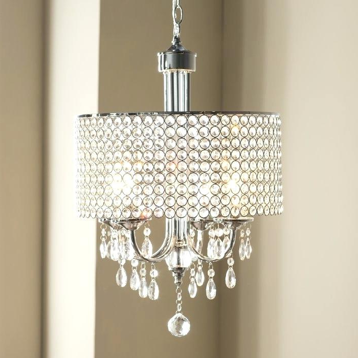 Mckamey 4 Light Crystal Chandeliers Pertaining To Most Recently Released Make A Crystal Chandelier – Carmonwhitelaw (View 16 of 25)
