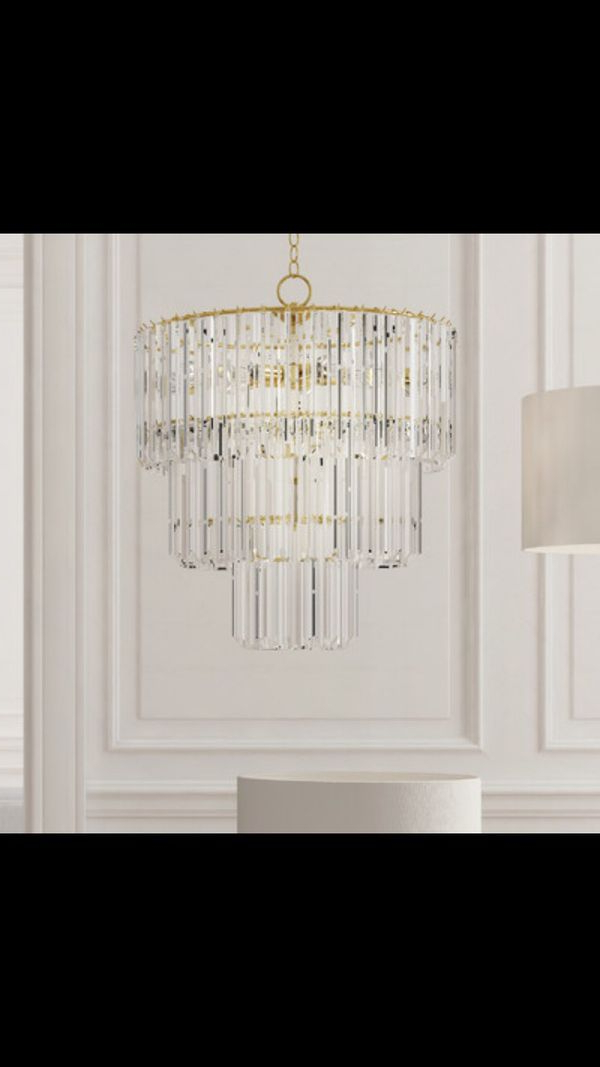 Mcknight 9 Light Chandeliers For Widely Used 9 Light Crystal Chandelier – Robotena (View 9 of 25)