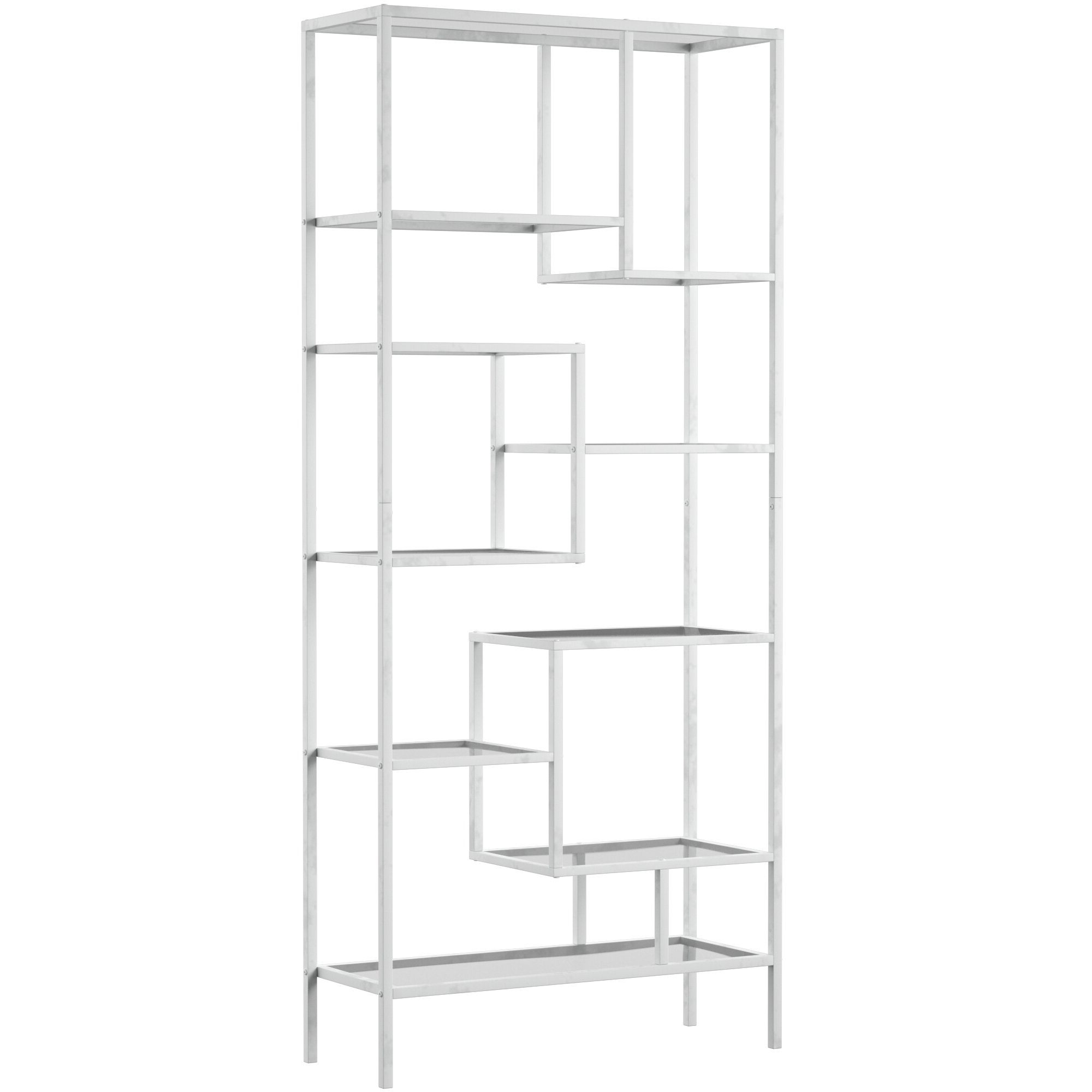 Mercury Row Coss Etagere Bookcase Within Famous Waverley Etagere Bookcases (View 8 of 20)