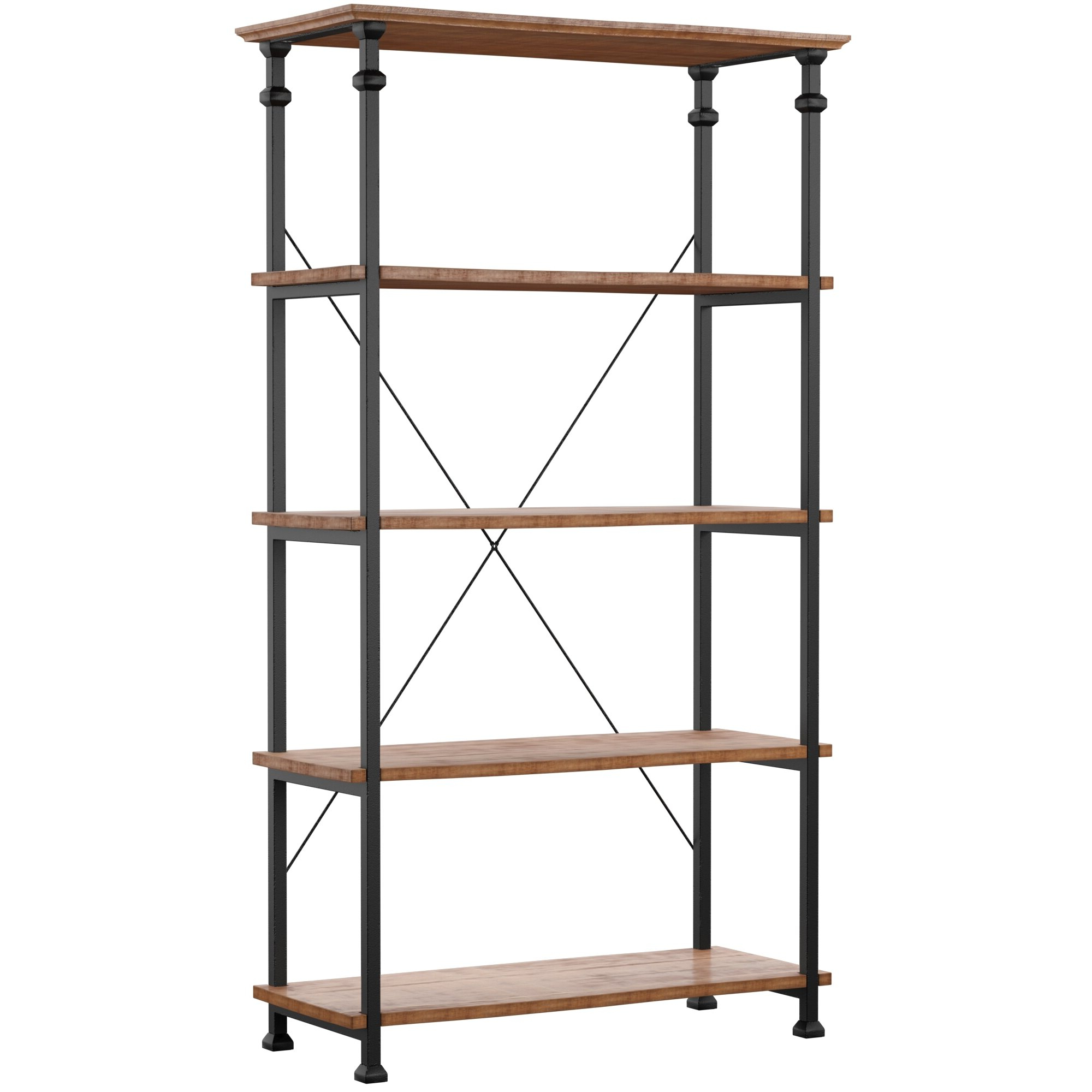 Mercury Row Zona Etagere Bookcase In 2019 Zona Etagere Bookcases (View 9 of 20)