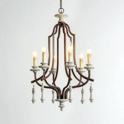 Metal And Wood Chandelier – Michaeljhouser (View 17 of 25)