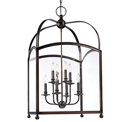 Millbrook 8 Light Pendant – Distressed Bronze Finish With Intended For Current Millbrook 5 Light Shaded Chandeliers (View 5 of 25)